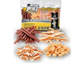 Calibra Joy Dog Multipack Fish & Chicken Mix 4x70g NEW