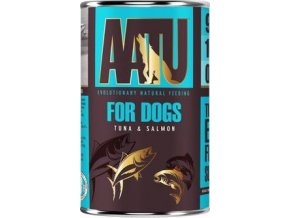 AATU Dog Tuna n Salmon konz. 400g