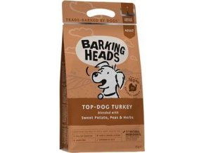BARKING HEADS Top Dog Turkey 2kg - BRNO