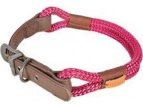 Obojek pes HYDE PARK nastavitelný červený 11mm 60cm Zo