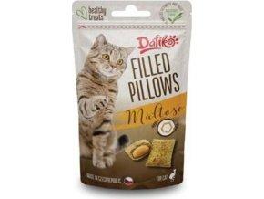 Dafíko plněné polštářky pro kočky s maltozou 40g