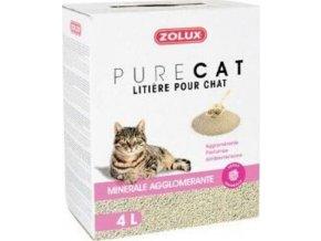 Podestýlka PURECAT antibacterial scent clump 4l Zolux