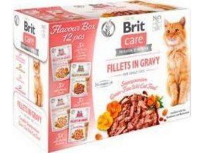 Brit Care Cat Fillets Gravy Flavour box 4*3psc(12*85g)