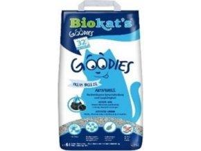 Podestýlka Biokat's Goodies s aktivním uhlím 6l