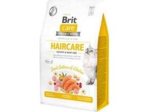 Brit Care Cat GF Haircare Healthy&Shiny Coat 0,4kg