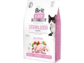 Brit Care Cat GF Sterilized Sensitive 0,4kg