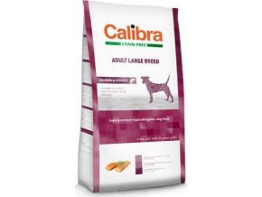 Calibra Dog GF Adult Large Breed Salmon  2kg - výprodej
