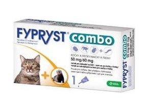 Fypryst combo spot-on 50/60mg kočka a fretka 1 pip expirace 02/21