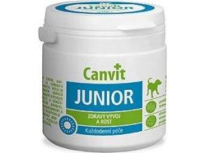 Canvit Junior pro psy ochucený 100g - expirace 24/3/2021