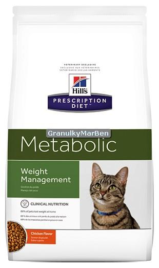 Kontrola hmotnosti - c/d, m/d, r/d, w/d, Metabolic