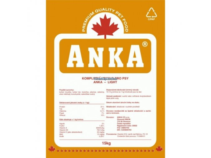 Anka Dog Light