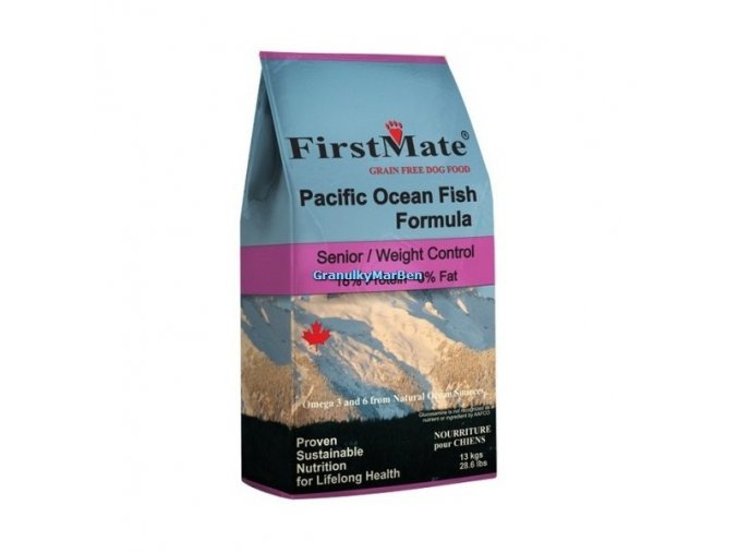 FirstMate Dog Pacific Ocean Fish Senior 13kg