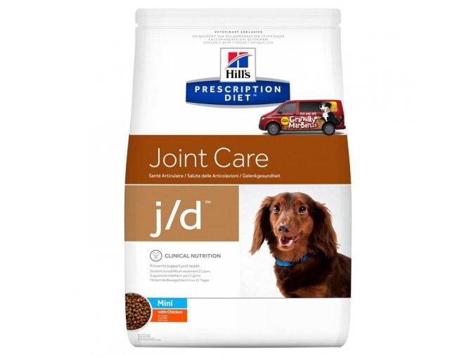 pd canine prescription diet jd mini with chicken
