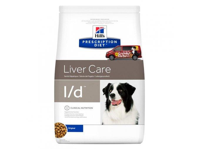 Hills canine diet ld
