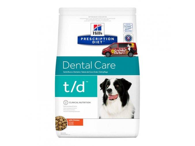 Hills canine diet td
