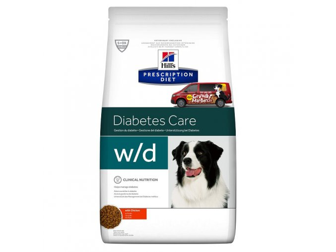Hills canine diet wd