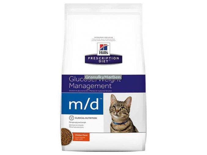 Hills Feline diet md