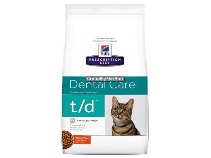 Hills Feline diet td