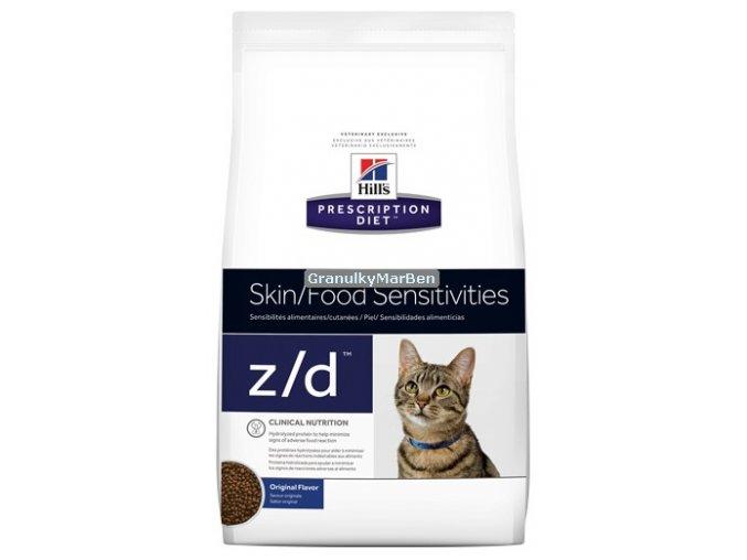 Hills Feline diet zd