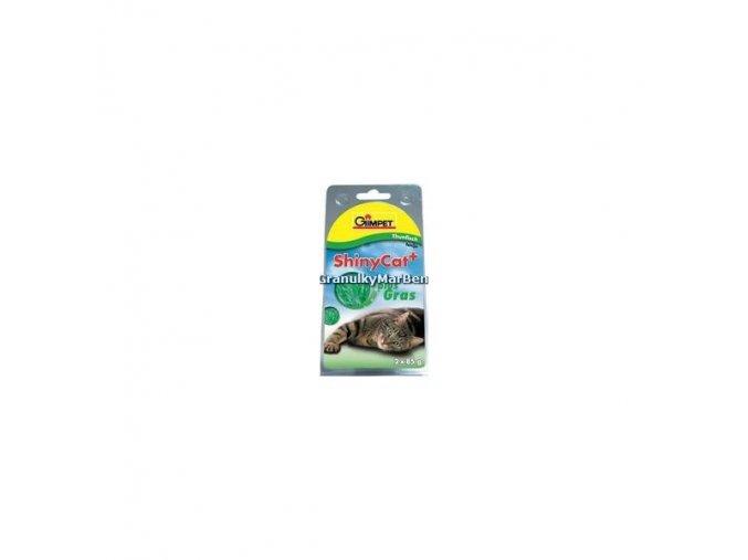 Konzervy ShinyCat Tuňák a kočičí tráva 70g