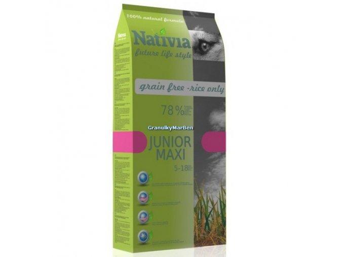 Nativia Dog Junior Maxi