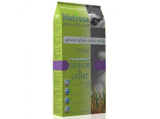 Nativia Dog Senior & Light