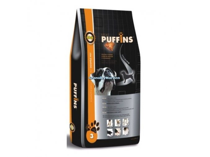 Puffins Dog Adult 15kg