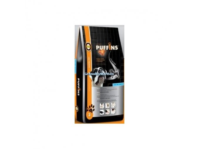 Puffins Dog Adult Lamb and Rice 1kg