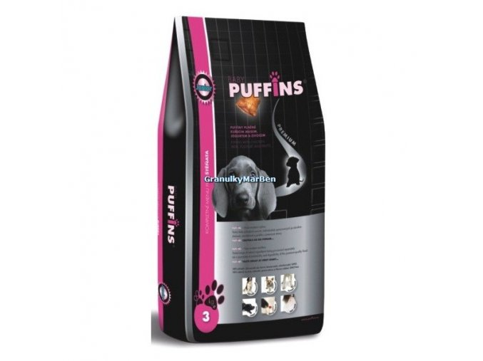 Puffins Dog Junior 15kg