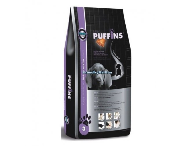 Puffins Dog Junior Maxi 1kg