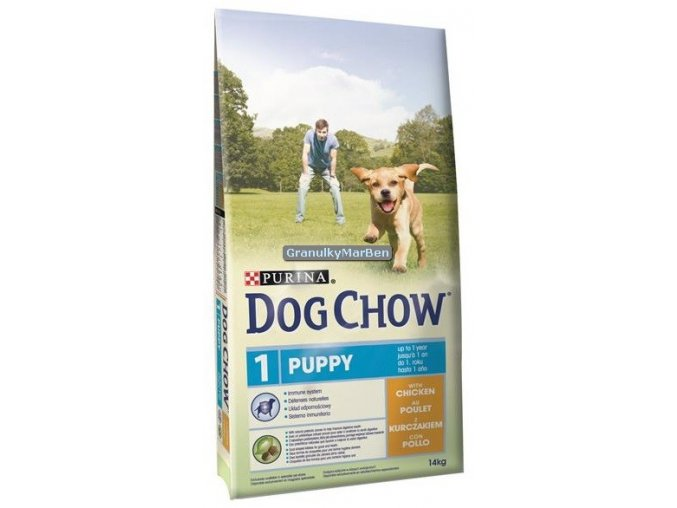 Dog Chow Puppy Chicken