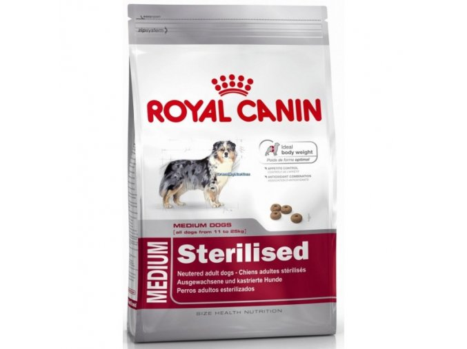 Royal Canin Dog Medium Sterilised 3kg
