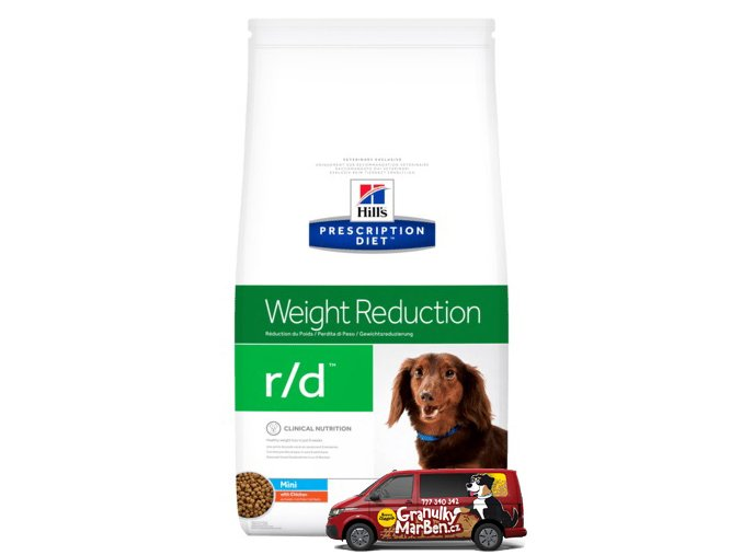 Hills canine diet rd mini