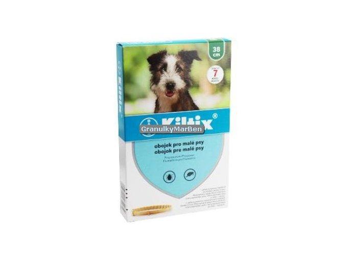 Antiparazitní obojek Kiltix pro malé psy 38cm