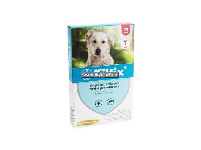 Antiparazitní obojek Kiltix pro velké psy 70cm