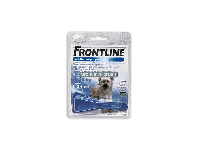 Frontline spot on dog 10 20kg