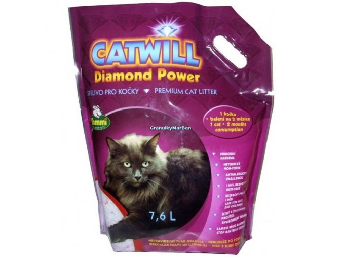 Podestýlka Catwill Diamond Power