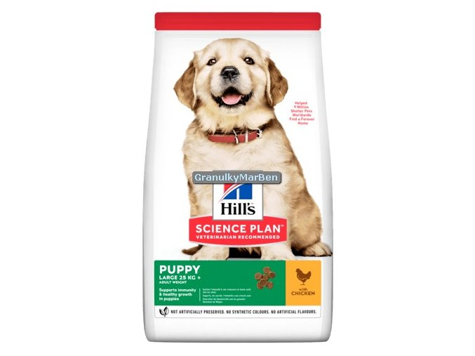 Hills sp canine puppy large chicken