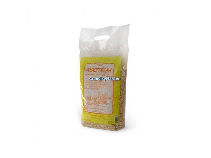 Limara kukuřičná podestýlka 7l s vůní citronu