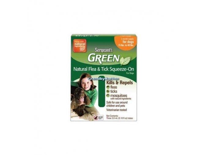 Sergeant's Green spot on pro psy 12-30kg 3x5ml