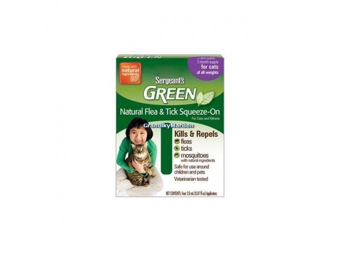 Sergeant's Green spot on pro kočky 3x1,5ml