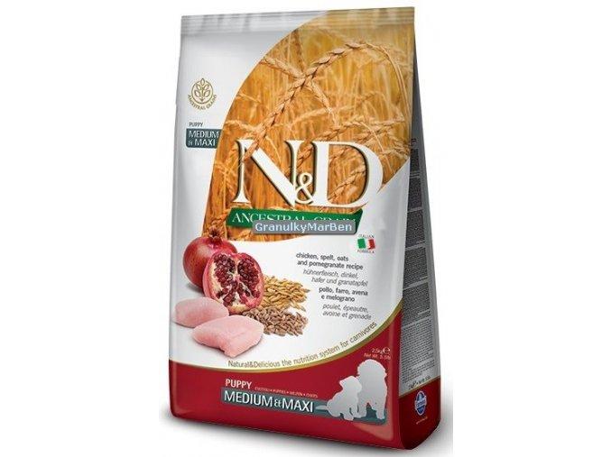 ND Low Ancestral Grain canine Puppy Medium Maxi CHICKEN