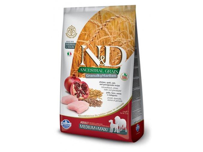 ND Low Ancestral Grain canine adult MEDIUM MAXI CHICKEN