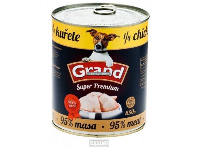Grand konzerva Extra s 1/4 kuřete 850g