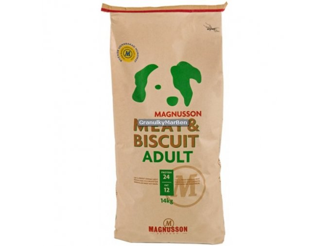 Magnusson Meat and Biscuit Adult 4,5kg