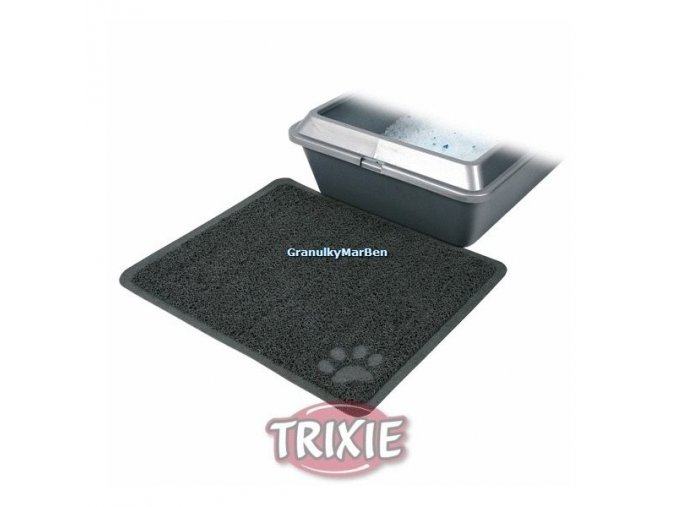 Předložka Trixie PVC s tlapkou