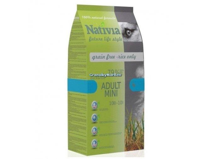 Nativia Dog Adult Mini Duck & Rice