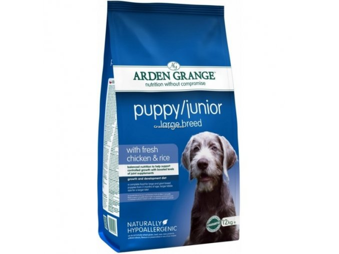 Arden Grange Puppy and Junior Large Breed