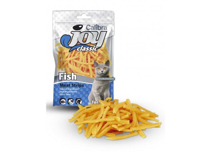 Calibra Joy Cat Classic Fish Strips