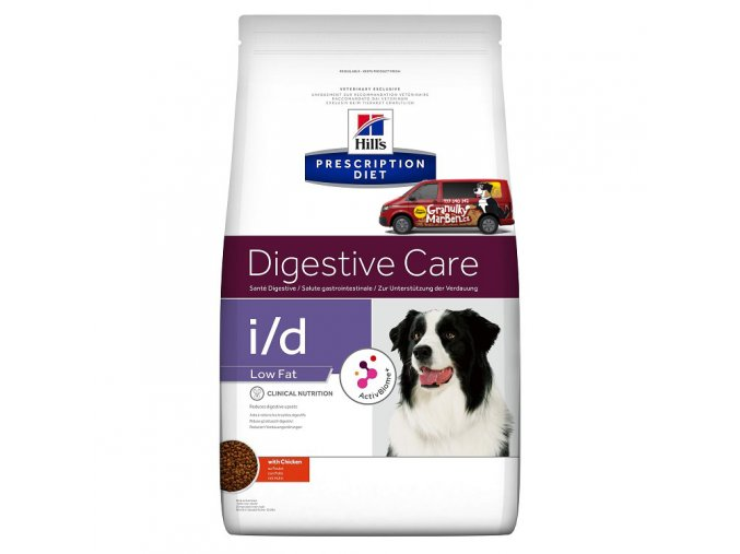 Hills canine diet id low fat